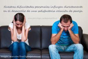 dificultades personales en la relación de pareja I